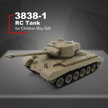 HENGLONG RC 2.4G Remote Control 1:16 Simulation Heavy Tank Models RC Automatic Vehicle Toys Car for Children Boy Gift