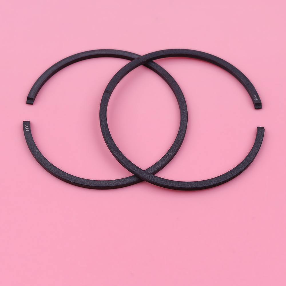 2pcs 42mm X 1.5mm Piston Rings For Husqvarna 42 45 242 246 345 Chainsaw Part 503289005