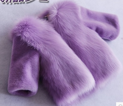f48b0af9bffed pink baby girls white faux fur coat toddler faux fur jacket toddler girls  coats fox fur coat children shaggy fur jacket child