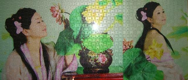 SST * 105x52 см с 1152 шт. Сделать Пазл на свой собственный Фото Персонализированные Подарочные Родителей пользовательские Моды Оптовая