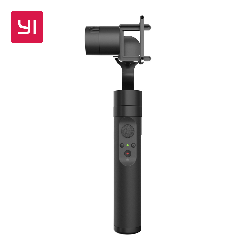 YI Action Gimbal 3 Axis 4 Modes Bluetooth Control 6 8 Hours Battery Handheld Stabilizer For