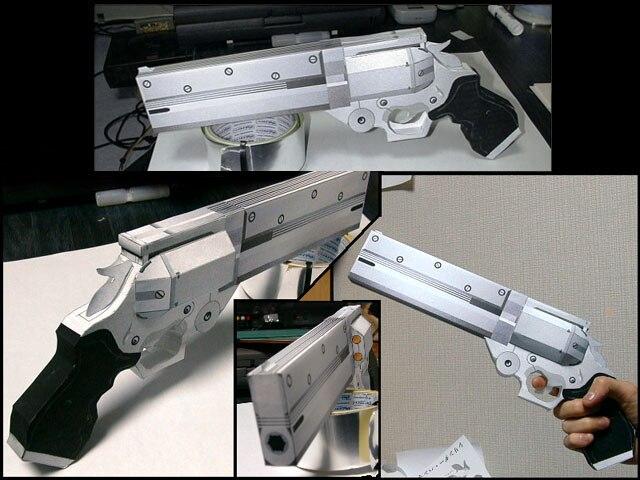 Revolver Vash Arma Modelo De Papel Arma Armas De Fogo 3d Desenhos