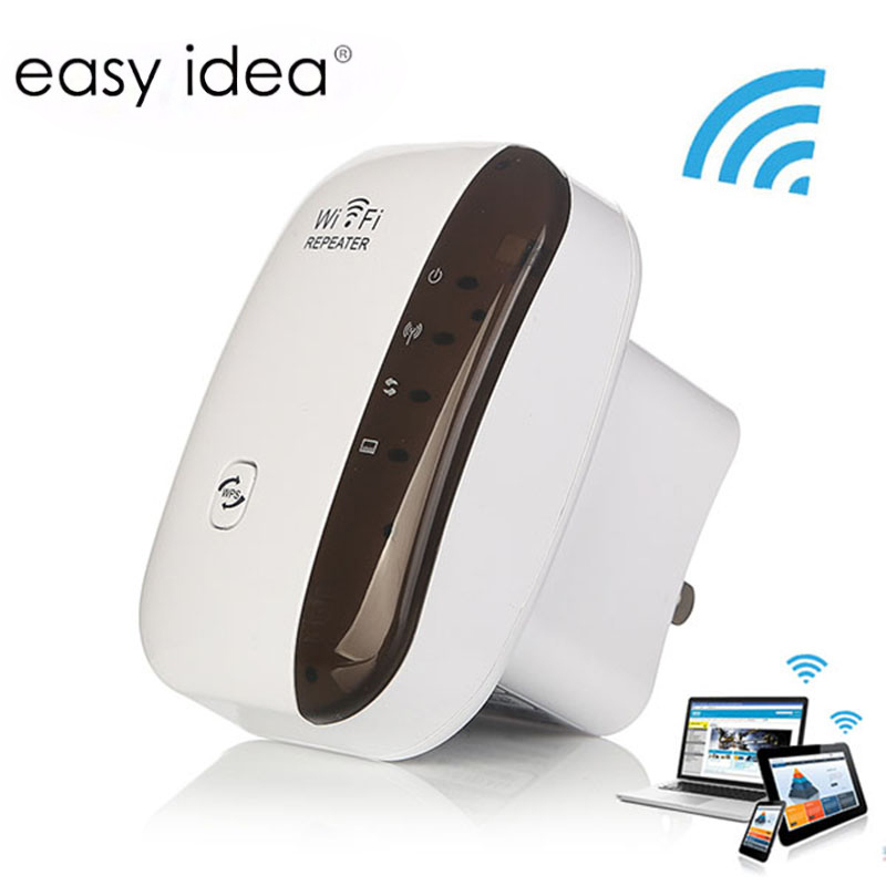 Wireless Wifi Repeater 802.11n/b/g เครื่องขยายสัญญาณ WiFi 300 Mbps Wi - Fi เครื่องขยายสัญญาณสัญญาณ Extender สัญญาณ Boosters Access จุด title=