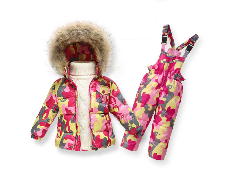 Подробнее о Children Winter Clothing set Boys Ski Suit Girl Down Jacket Coat + Jumpsuit Set 1-6 Years Kids Clothes For Baby Boy/Baby Girl children winter down jacket boys warm outerwear coats girls clothing set 1 6 years kids ski suit jumpsuit for boys baby overalls