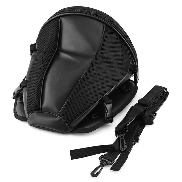 7330c708034a Motorcycle Bags Luggage Moto Bike Sports Waterproof Back Pack Seat Carry  Tail Bag Storage Saddlebag Leather for Motorbike Tool