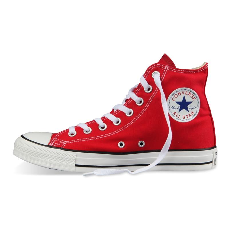 D'origine Converse all star chaussures hommes femmes sneakers toile chaussures tous les noir haute classique de Planche À Roulettes Chaussures livraison gratuite - 3