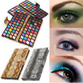 Maquiagem profissional 80 Full Color Eyeshadow Palette Shimmer Matte Eyeshadow Pigmento Cosmético Compo o Jogo Kit