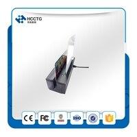 USB Portableb 3 Tracks Magnetic Card Reader+IC Smart Chip Card Reader HCC100