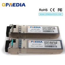 10Gb/s BIDI SFP+ 80km Transceiver 10G SFP 80KM 1490nm TX/1550nm RX OR 1550nm TX/1490nm