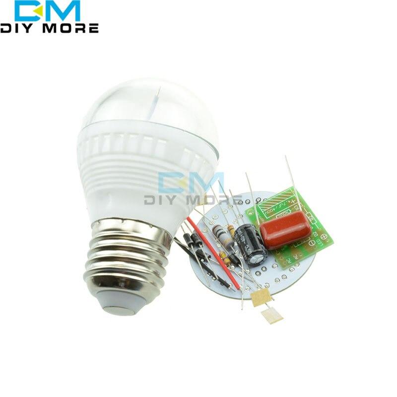 5PCS 38 LEDs Energy-Saving Lamps Suite Without LED DIY Kits