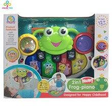 Juguete para bebés «Rana musical»