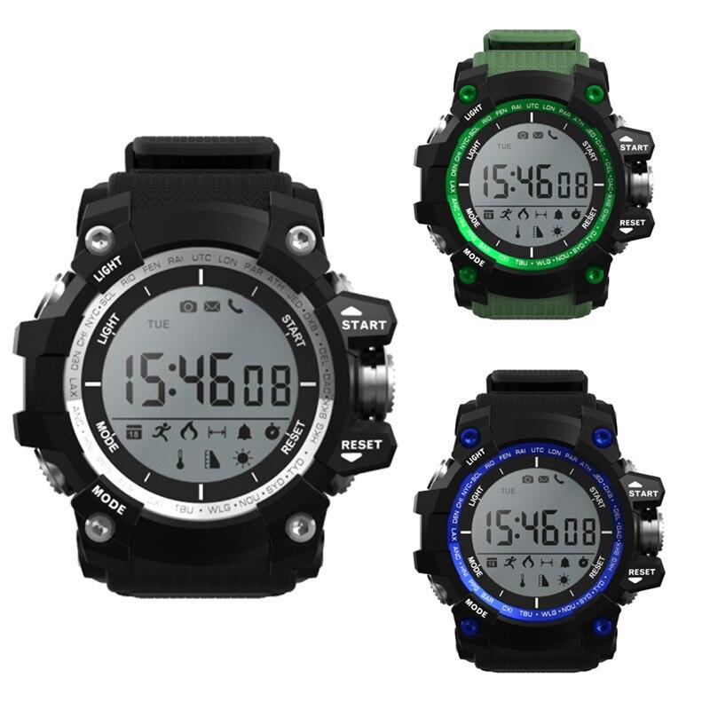 imágenes para Vwar smart watch sueño altitud de presión temperatura ultravioleta uv despertador podómetro bluetooth ip68 impermeable no. 1 f2