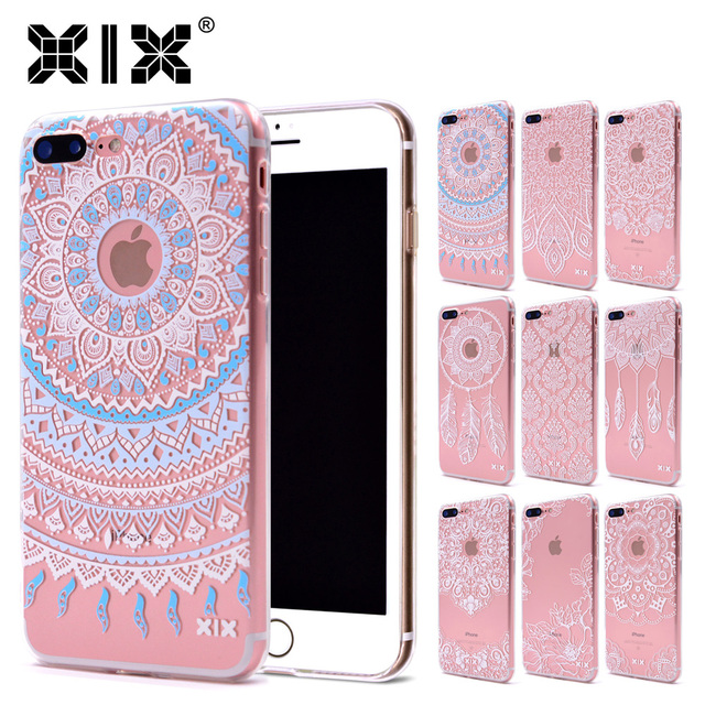 7d09a905e00 XIX for Funda iPhone X Case 5 5S 6 6S 7 Plus X XS Max XR Mandala Design for  Cover iPhone 7 Case Soft TPU for Capa iPhone 8 Case-in Fitted Cases ...