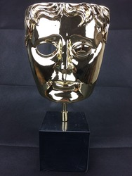 Nagroda brytyjskiej akademii filmowej nagrody dla hoteli  metalowe replika nagrody BAFTA  Britsish akademii filmowej