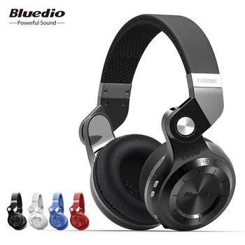 Bluedio T2S(Shooting Brake) Bluetooth stereo headphones wireless headphones Bluetooth 4.1 headset  headphones Phone Earphones & Headphones