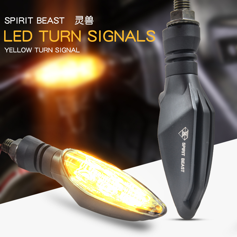 CFMOTO Motorcycle Signal Light Modified Light Waterproof Turn Signal General LED Turn Signal Decoration Highlight Warning Light