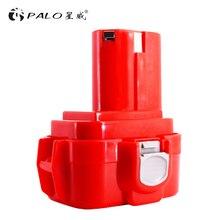 цена на PALO 2000mAh 9.6V 2000mAh Ni-CD Power Tools Battery for MAKITA PA09 9120 9122 9133 9134 9135 9135A 6222D 6260D 6207D