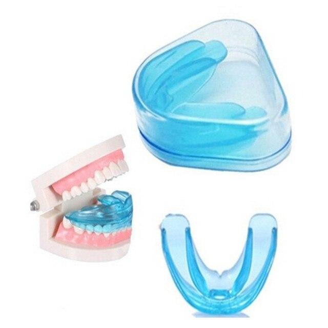 Nuevo ortodoncia soportes dentales sonrisa silicona dientes alineación entrenador dientes retención boca protector bandeja dientes