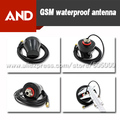 GSM GPRS Antena Impermeable, 850/900/1800/1900 MHz, 3 M Cable SMA Macho Conector