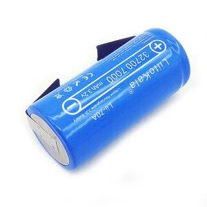 Image 5 - Liitokala 2019 bateria de 3.2v 32700 7000mah, 6500mah lifepo4 35a descarga contínua máxima 55a bateria de alta potência + folhas de níquel