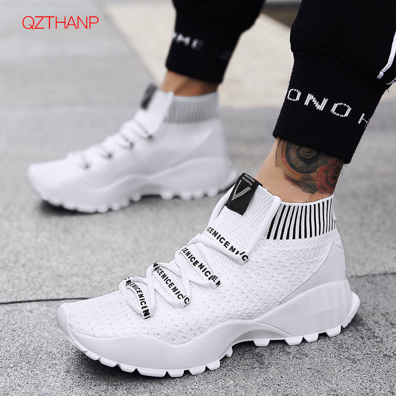 Sneakers Weave Mesh Casual Men Socks Shoes Zapatos Hombre Men Footwear Loafers Tenis Masculino Adulto Flats Antiskid HighQualitySneakers Weave Mesh Casual Men Socks Shoes Zapatos Hombre Men Footwear Loafers Tenis Masculino Adulto Flats Antiskid HighQuality