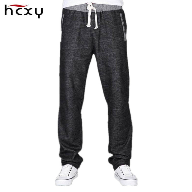 HCXY Famouse Brand 2016 Men's Straight Harem Pants Casual Full Cotton Stretch Men Trousers Male Loose Sweatpants Plus Size 8XL
