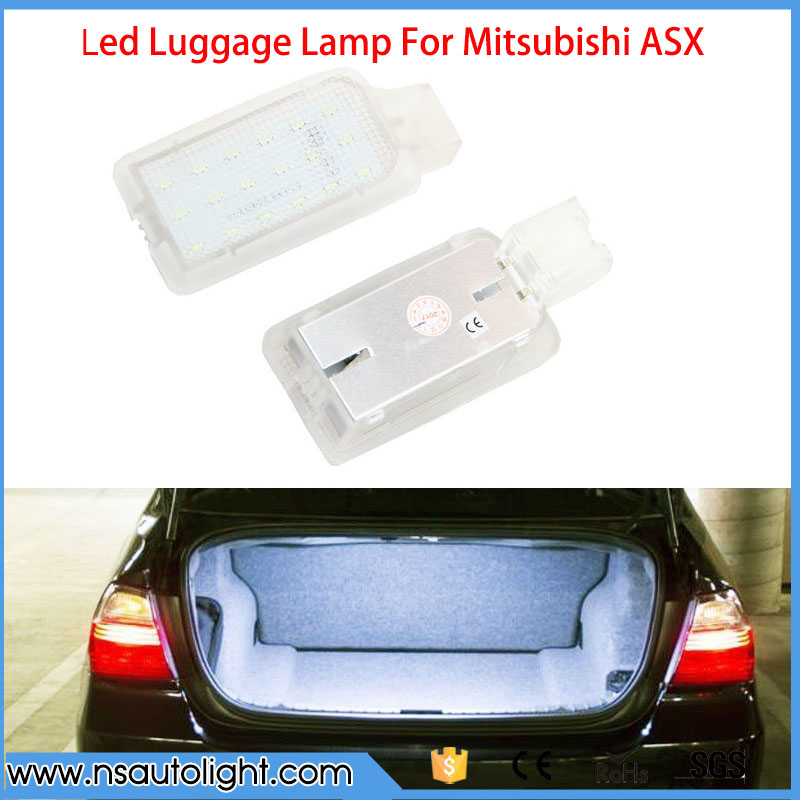 Error Free LED Interior Footwell Luggage Trunk Boot Glove Box Lamp Car Light Source for Mitsubishi ASX