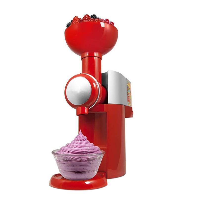220 В Большой Босс swirlio Электрический замороженные фрукты десерт машина автоматическая фрукты машина мороженого maker молочный коктейль ЕС/АС /...