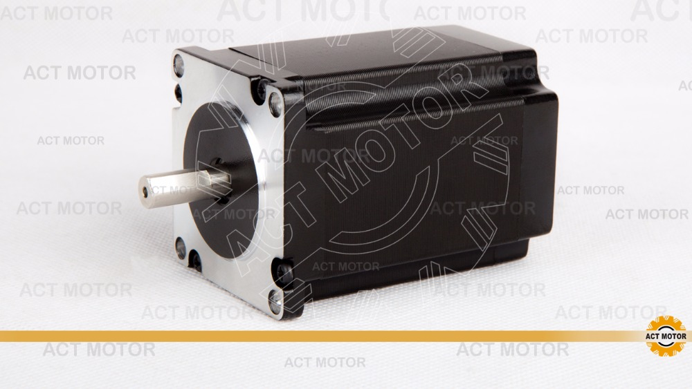 Free Ship from Germany!ACT Motor 1PC Nema23 Stepper Motor 23HS8430D8P1-5 Single Shaft 4-Lead 270oz-in 76mm 3A CE ISO ROHS free ship 3pcs dual shaft nema 23 stepper motor 1 89n m 268oz in 76mm 3a direct selling