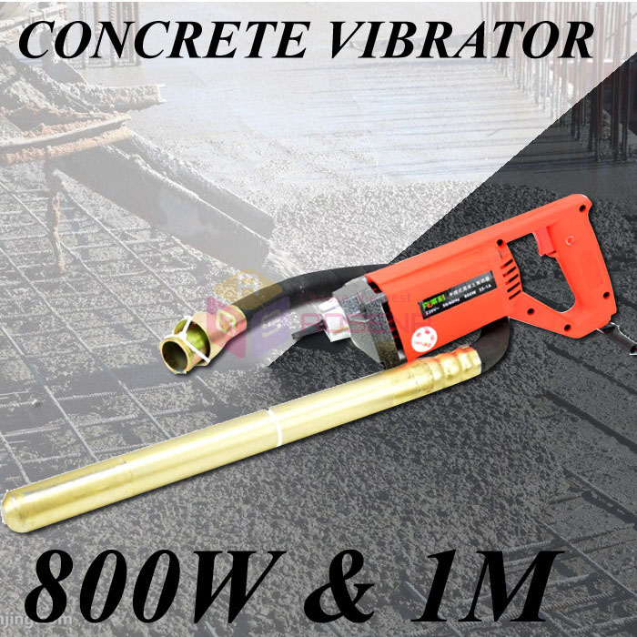 Concrete Vibrator 35mm Stable Voltage 800W Motor Construction Tools Simple to Handle 35 1A