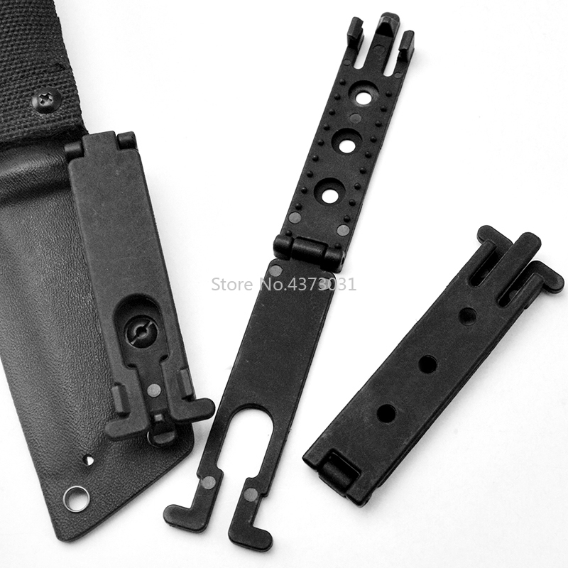 1Piece MOLLE-LOK Scabbard K Sheath Waist Clip System Scabbard Back Clip KYDEX Scabbard Carrying Clip K Sheath MOLLE Buckle