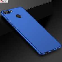 For Coque Huawei P Smart Case Full Protection Slim Frosted Matte Soft TPU Back Cover For Huawei P Smart Silicone Case FIG-LX1