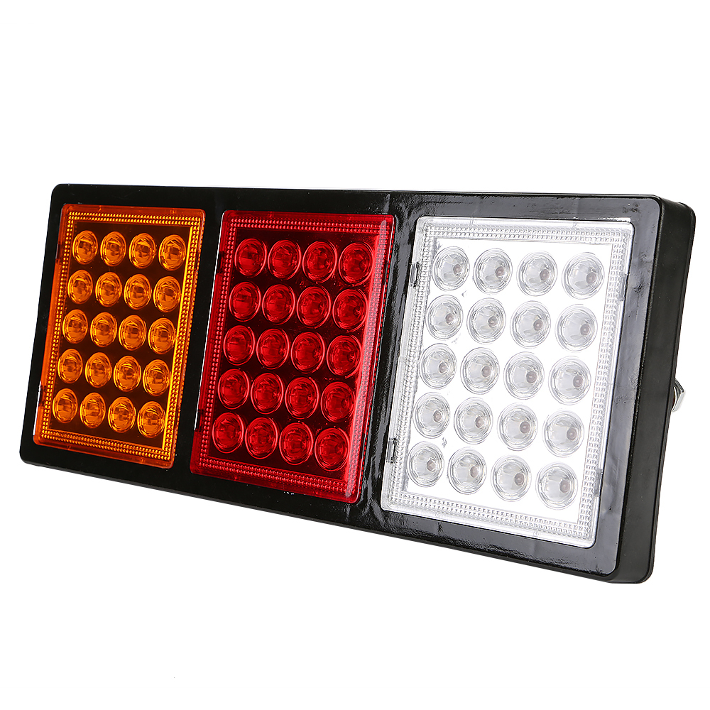 24V 60LED Truck Tail Light Lamp Pickup Van Car Taillight Rear - Aomoto Electronics Co.,Ltd. store