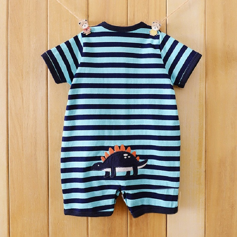 High Quality Newborn Baby Rompers girls Clothes Short Sleeve Cotton baby roupa Boy  roupas de bebe Infantil Clothing newborn baby clothing spring long sleeve cotton baby rompers cartoon girls clothes roupas de bebe infantil boys costumes
