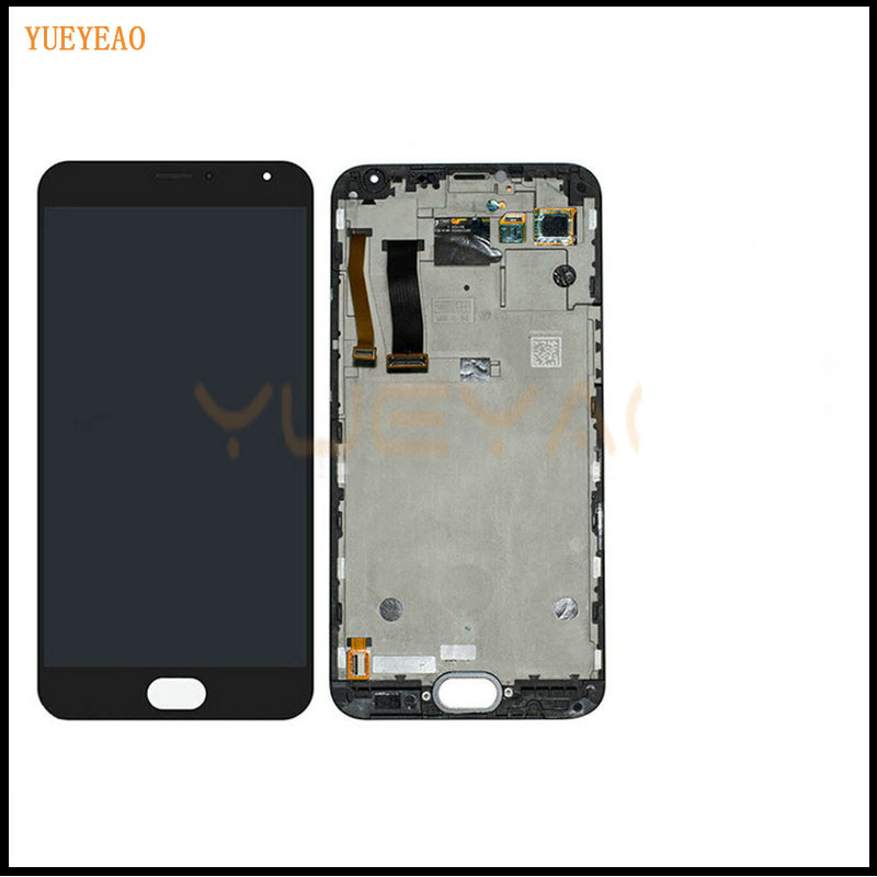 YUEYAO LCD For MX5 LCD Display+Touch Screen With frame LCD Assembly Repair Parts 5.5 Inch Replacement Mobile AccessoriesYUEYAO LCD For MX5 LCD Display+Touch Screen With frame LCD Assembly Repair Parts 5.5 Inch Replacement Mobile Accessories