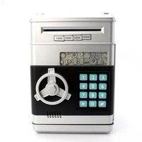 Hot Sales Piggy Bank Mini ATM Money Box Safety Electronic Password Chewing Coins Cash Deposit Machine