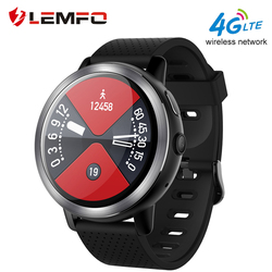 LEMFO LEM8 Smart Watch Android 7.1 LTE 4G Sim WIFI 1.39 Inch 2MP Camera GPS Heart Rate Christmas Gifts Smartwatch for Men Women