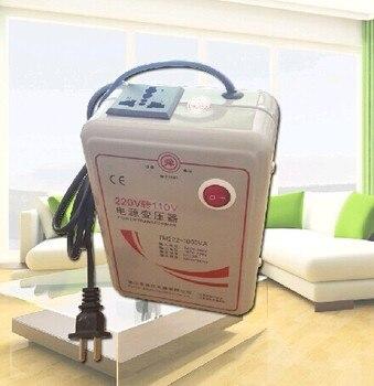 DHL Yeni 220 V 110 V 1000 W Adım Aşağı Gerilim Dönüştürücü Trafo Dönüştürür 1000 Watt