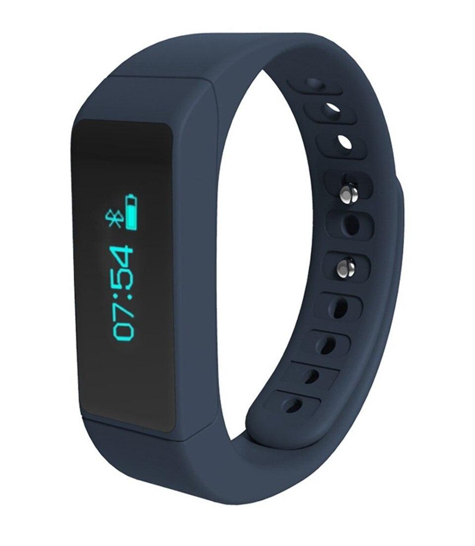 2016 IP67 waterproof font b watches b font 0 91 OLED TPU smartband fitness tracker clock