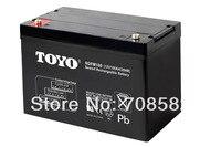 10 шт. TOYO батарея 12V100AH для электрических транспортных средств/хранения UPS/Резервное копирование системы