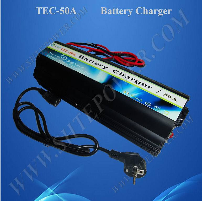 Suspensibility  Lead Acid or Gel 50A AC DC Battery Charger 12 Volt 220v to dc 24v battery charger for lead acid battery