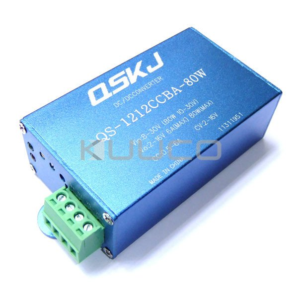 80W Adapter DC 8~30V to 2~16V 6A Buck Power Supply Module/ Adjustable Voltage Regulator/Power Converter DC 5V 12V Charger/Driver lm2596 multiple output power supply module dc 5 40v to 3 3v 5v 12v adj 4 way buck converter voltage regulator adapter driver