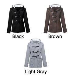 Women's Warm Coat Jacket Outwear Winter Hooded Long Parka Overcoat Tops 5