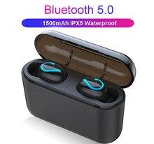 PYMH Bluetooth 5.0 Headset TWS Wireless Earphones Mini Earbuds Stereo Headphones pymh bluetooth 5 0 headset mini tws twins wireless in ear stereo earphones earbuds