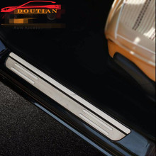 For Suzuki Vitara 2016 Door Sill Accessories Stainless Door Sills Scuff Plate Gaurds Pedal Protector Car Styling Stickers 2015