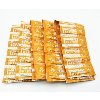 50 pièces Ultra mince Préservatifs Pour Hommes Préservatif En Latex Naturel avec Beaucoup Lubrifiant Contraception Jouets G Spot Manchon de Pénis Adulte Produits de Sexe
