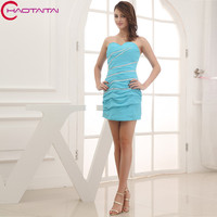 Light Sky Blue Gorgeous Women Sexy Elegant Luxury Short Summer Cocktail Dresses Dress cocktail jurk