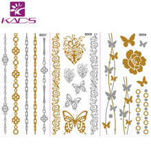 10PCS/LOT Body art stickers Fashion Temporary Tattoo Stickers Temporary Body Art Tattoo Pattern