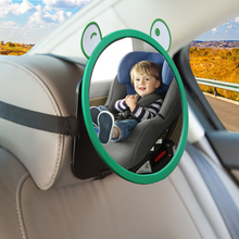 Автомобильное зеркало заднего вида, мультяшное детское кресло, зеркала, Универсальное автомобильное безопасное зеркало заднего вида, зерк...