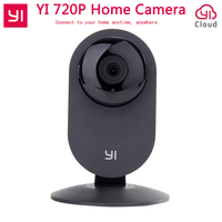 Original Xiaomi Yi Camera Night Vision Smart Wireless Wifi IP Camera 720P Video Webcam Black For